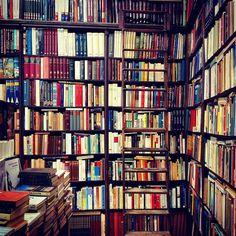 surfthrough-waves:  BookstorebyCarlaBerzollaonFlickr.  Follow Bookshelf Porn onFacebook,Twitter,Instagram&Pinterest.