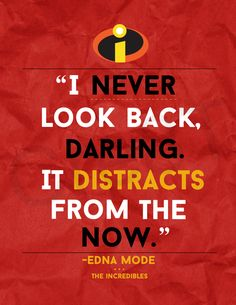 Disney The Incredibles Movie Quote Print by Cre8T on Etsy