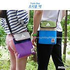 Bright Color Travel Pouch Bag with Strap for Tablet Gadget DSLR Accessories