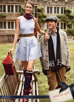 Tommy Hilfiger Girl Campaign FW 2012-13 - Andie Arthur and Myles Pimental by Daniel Jackson