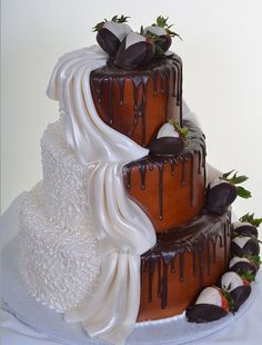 Split Personality.  Definitely a his and hers cake!