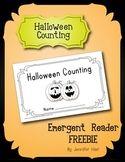 Halloween Counting Emergent Reader Freebie