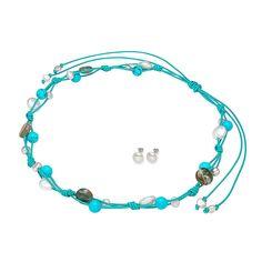 Set Valero Pearls Șoapta Mării (cercei, colier)