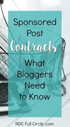 Sponsored Post Contracts - how to read through them with an eye for business to protect you and your brand! via /momtoelise/ Make Money Blogging, Make Money Online, How To Make Money, Blogging Ideas, Blog Planner, Best Blogs, Blogging For Beginners, Helpful Hints, How To Start A Blog