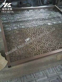 Chinese manufacturer of laser cut screens and modern metal furniture, specialize in custom design decorative metal products and ship worldwidely. Metal Gates, Metal Screen, Metal Furniture, Furniture Design, Laser Cut Metal, Laser Cutting, Metal Room Divider, Stainless Steel Screen, Partition Screen