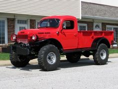 1946 Dodge Power Wagon with Cummins power