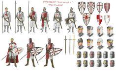 Knights Templar Military Armor