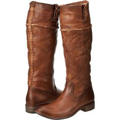 Frye Shirley Artisan Tall (Whiskey Washed Vintage) Cowboy Boots ($315) ❤ liked on Polyvore featuring shoes, boots, brown, knee-high boots, brown boots, tall cowgirl boots, brown knee high boots, brown leather knee high boots and cowboy boots