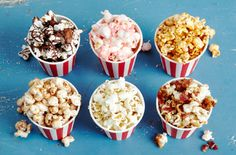 flavored popcorn recipes .