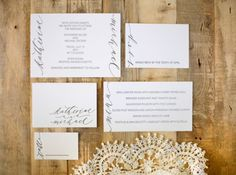 another amazing wedding from neither snow calligraphy / osbp
