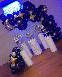 It's a Boy Twinkle Twinkle Little Star Baby Shower Party Ideas Royalty Baby Shower Theme, Boy Baby Shower Themes, Baby Shower Parties, Baby Boy Shower, Shower Party, Diy Birthday Decorations, Baby Shower Decorations, Birthday Balloons, Birthday Parties