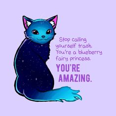 Do you need a little boost today? Kate Allan (The Latest Kate) has a message for you: you're amazing! For more inspiration and imaginative illustrations, check out her new book, It's Your Weirdness That Makes You Wonderful. Inspirational Animal Quotes, Cute Animal Quotes, Uplifting Quotes, Cute Quotes, Happy Quotes, Positive Quotes, Motivational Quotes, Cute Animals, Cute Animal Drawings