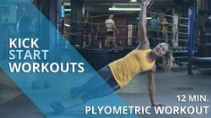 Plyometrics aka jump cardio will mix up your exercise routine, big time! | Kickstart Workouts  | HealthiNation