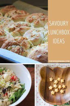 Some savory lunchbox ideas for inspiration!