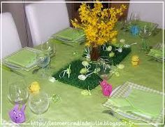 Table de Pâques double Dating
