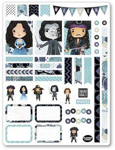 Piraten Dekoration Kit / wöchentlich verteilt Sticker für Erin