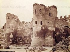 Porta Asinaria Anno: 1870 ca. San Giovanni, Rome, Military History, Castles