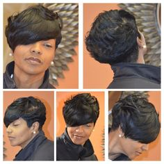 80 Bob Hairstyles To Give You All The Short Hair Inspiration - Hairstyles Trends Short Sassy Hair, Short Hair Cuts, Short Hair Styles, Natural Hair Styles, Pixie Styles, Short Pixie, Pixie Cut, Braid Styles, Cute Hairstyles For Short Hair