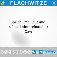 Flachwitze #220 - Xavi