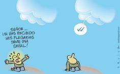 #Humor #WhatsApp Cielo y Tierra