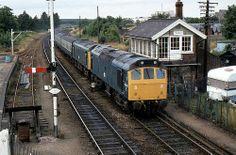 Class at Thetford. Electric Locomotive, Diesel Locomotive, Uk Rail, Train Room, Train Stations, British Rail, Old Trains, Train Engines, Great Western