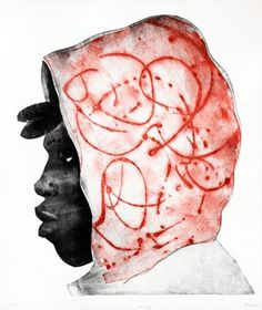 Art / Kunst, Print, Printmaking, Grafik, Druckgrafik, Artist/Künstler: Anja Tchepets, Title/Titel: Homeboy Nr. 109, Technique/Technik: Dry point engraving & Monotype / Kaltnadel & Monotypie, Price/Preis: 500,- €