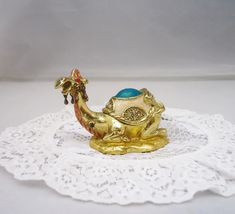 Vintage Enamel and Rhinestone Camel, Brass and Rhinestone Camel Trinket Box, Magnetic Camel Trinket Box Cool Lighters, 22 Carat Gold, Car Boot, Wedgwood, Uk Shop, Trinket Boxes, Camel, Brass, This Or That Questions