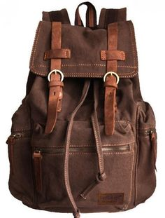 """Vintage #School #Hiking Outdoor - 17"""" padded Laptop compartment Backpack"""