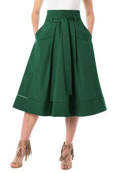 2809564ae Buy women's skirts at eShakti.com. Shop our selection of knee length, calf