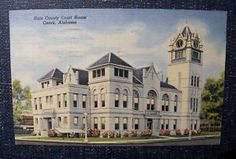 the court house that Ozark Alabama tore down to build the ugly one we have now.