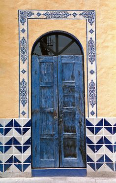 Blue Door | Flickr (Mexico)