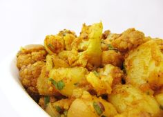 Cauliflower and Potatoes (Aloo Gobi)