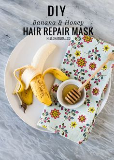 These all-natural dry hair repair recipes will have your hair looking smooth, shiny and back to life in no time.
