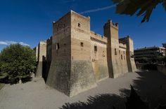 Castillo de Marcilla, #Navarra Saber más... --> http://www.turismo.navarra.es/esp/organice-viaje/recurso/Patrimonio/6050/Castillo-de-Marcilla.htm