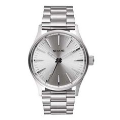 Nixon: The Sentry 38 SS all silver $200