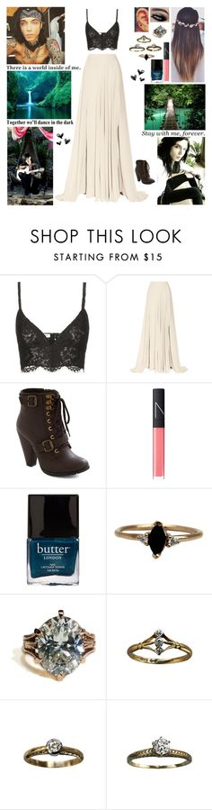"""""""✿ Tag In D! ✿ We were spinning in circles with the moon in our eyes, no room left to move in between you and I. We forgot where we were and we lost track of time, and we sang to the wind as we danced through the night ✿"""" by blueknight ❤ liked on Polyvore featuring Valentino, Elie Saab, NARS Cosmetics, Butter London, LUMO, Columbia, Love Quotes Scarves, women's clothing, women and female"""