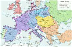 Napoleon Empire In 1812