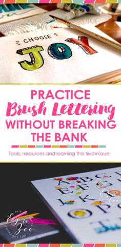 Tips for brush letterers