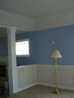 Build Something!: Panelled Post Collonade and wainscot