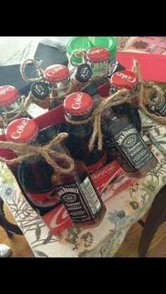 21 Present Ideas for Your BFF's 21st Birthday | Jack daniels, Coke ...