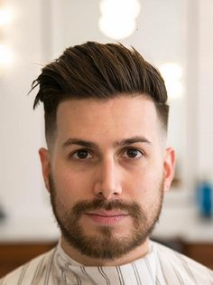 35 Comb Over haircuts for mens 2018