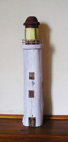 driftwood lighthouse