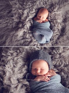 simple with bonnet on boy - newborn photography