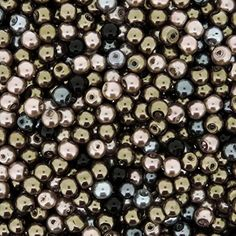 Beads Direct USA's Glass Pearls Mix 200pcs Tiny Round Glass Pearls Approx 4mm in diameter - Granite Mix Beads Direct USA http://www.amazon.com/dp/B0137D1XN4/ref=cm_sw_r_pi_dp_lV--vb1SP2PT3