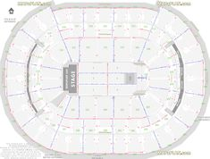 Scottrade Center Seating Chart With Rows And Seat Numbers ...