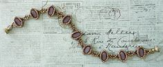 Bracelet of the Day: Silky Cameo - Lilac