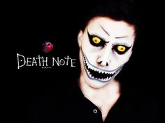 DEATH ✝ NOTE - RYUK ◆ Anime Makeup Tutorial