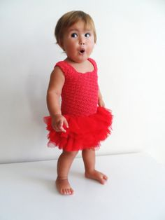 Hey, I found this really awesome Etsy listing at https://www.etsy.com/listing/152229321/red-tulle-dress-with-stretch-crochet-top