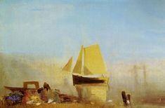 Turner, Joseph Mallord William: Fischerboot im Nebel (Fishing Boat in a Mist)