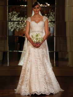 Romona Keveza Wedding Dresses. To see more: http://www.modwedding.com/2014/08/01/romona-keveza-wedding-dresses/ #wedding #weddings #wedding_dress